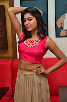 Akshita super cute Pink Choli at south indian thalis and filmy breakfast in Filmy Junction inaguration by Gopichand ~  Exclusive 055.JPG