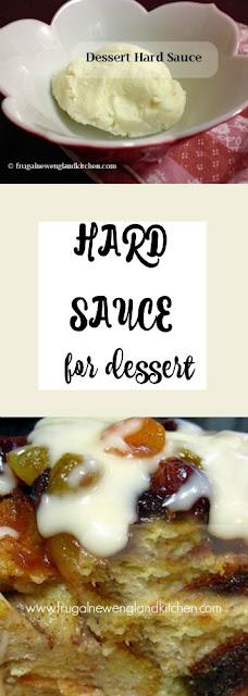 Dessert Hard Sauce Recipe