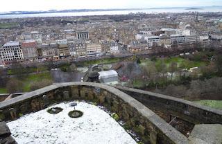 Cementerio de mascotas del castillo de Edimburgo.