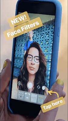 Instagram introduced face filters like SnapChat