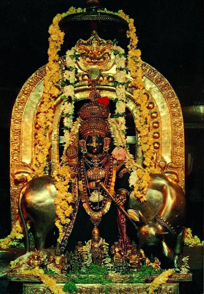 Udupi Sri Krishna Temple Main Deity