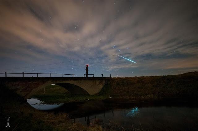 Chuva de meteoros Geminidas - Béla Papp