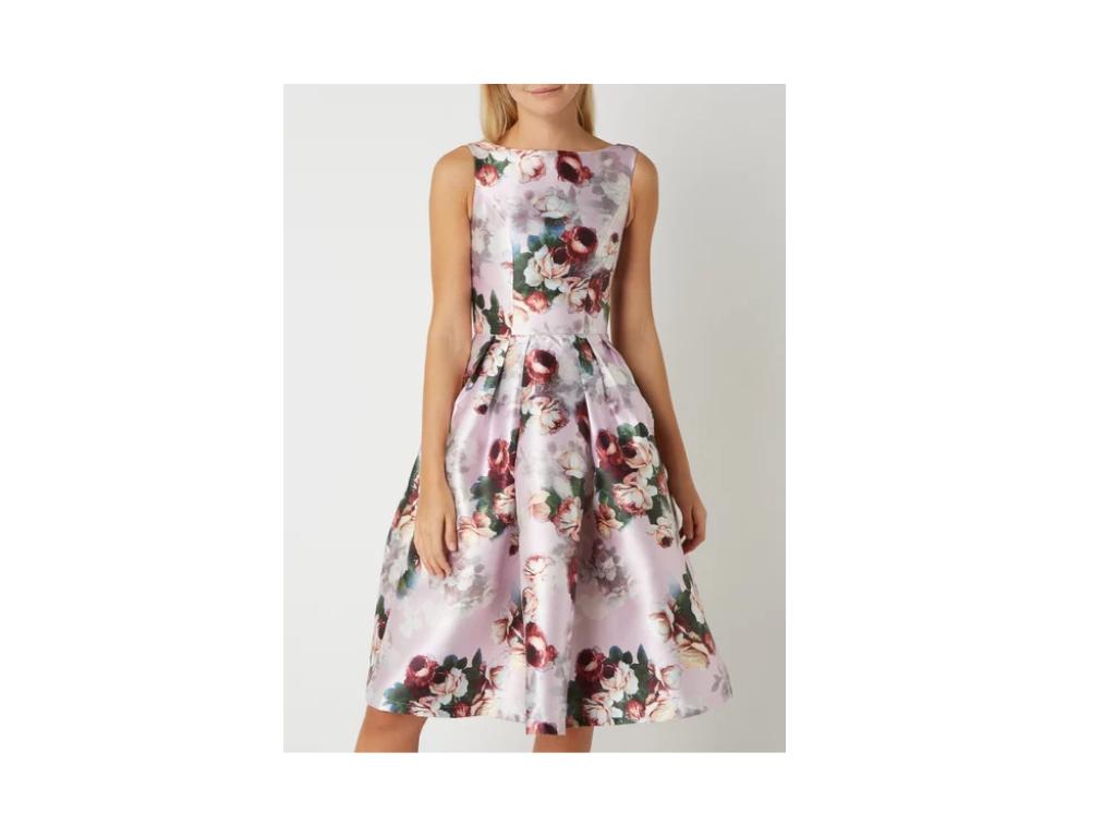 sukienka wesele 2019 różowa błękit koronka midi mini maksi blog gościa