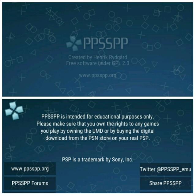Emulator PPSSPP, salah satu emulator PSP terbaik