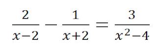 ecuaciones racionales ejercicios resueltos