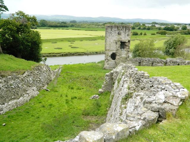 Rhuddlan Castle, North Wales Castles,