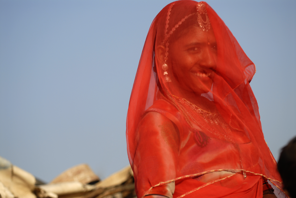Rajasthani woman in Pushkar, India is among the photos published in the International Traveller Magazine.