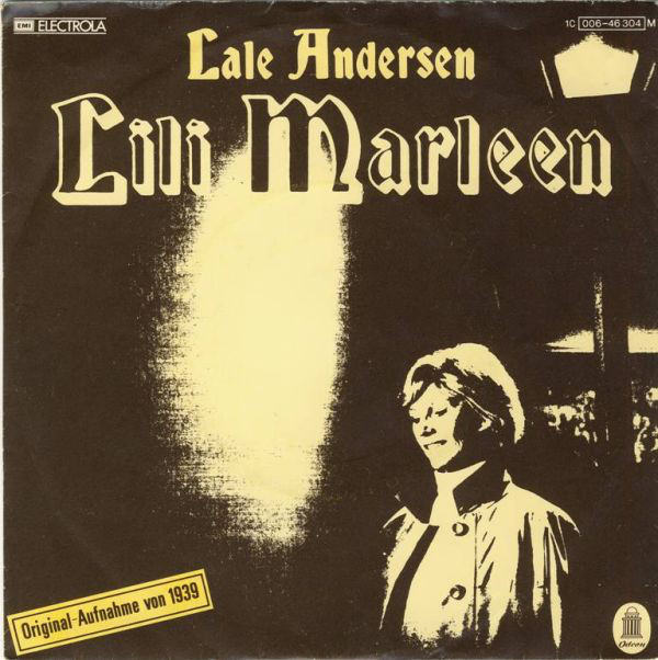 Lale Andersen, Lili Marleen 18 August 1941 worldwartwo.filminspector.com