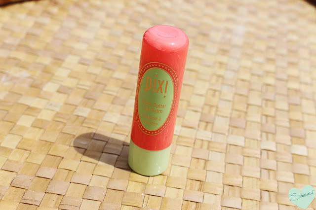 PIXI Shea Butter Lip Balm in Coral Crush ($8)