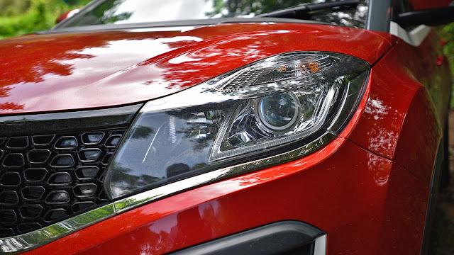 Tata Nexon SUV Front Headlight