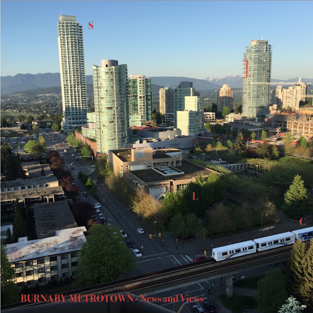 Burnaby Metrotown - Cityscape March 2016