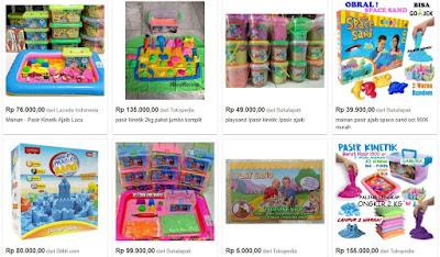 Bisnis Mainan Anak Pasir Kinetik