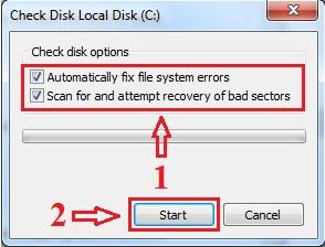 Langkah - Langkah Cek Error Kartu SD Melalui Komputer