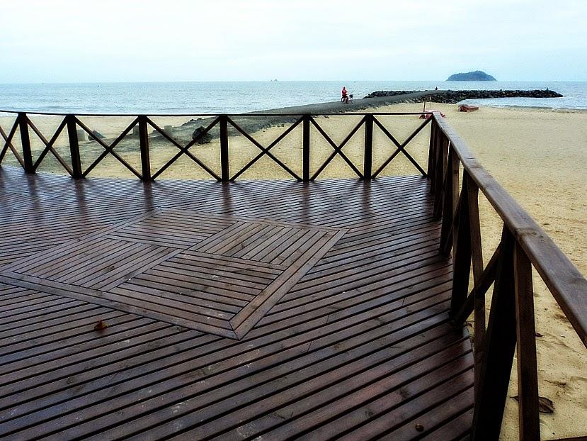 Praia Central de Balneário Piçarras
