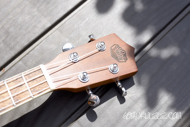 Sound Smith Resonator Ukulele headstock