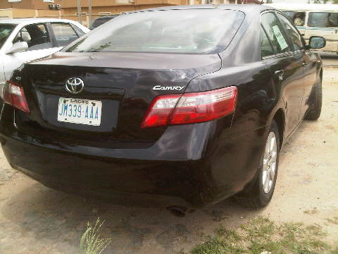 Very Clean Nigeria Used Toyota Camry 2007model This Is An Extremely For In Lagos Mao Gra A Good Working Condition