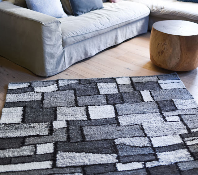 Wool Area Rugs Hand-Woven 2