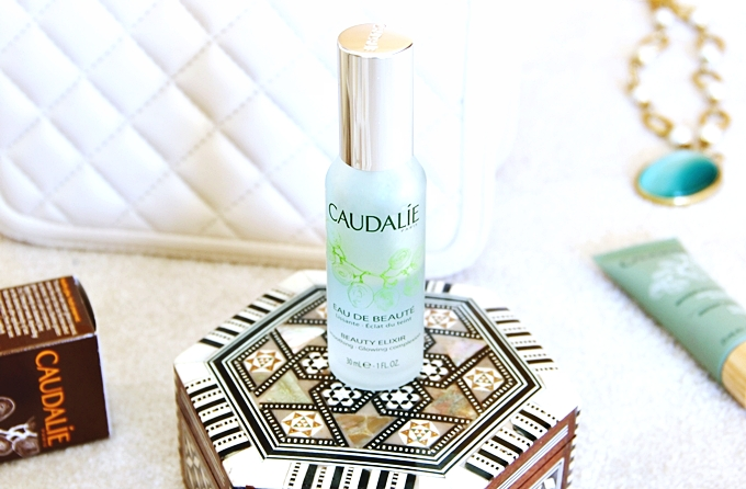 Caudalie travel size Beauty elixir.Caudalie Beauty elixir tonik u spreju.Best travel size beauty products.