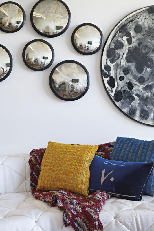 Explosión artística y colorista para un interior en Beirut chicanddeco