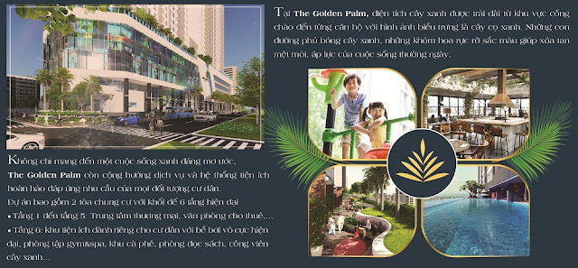 Tiện ích đẳng cấp tại the Golden Palm Lê Văn Lương