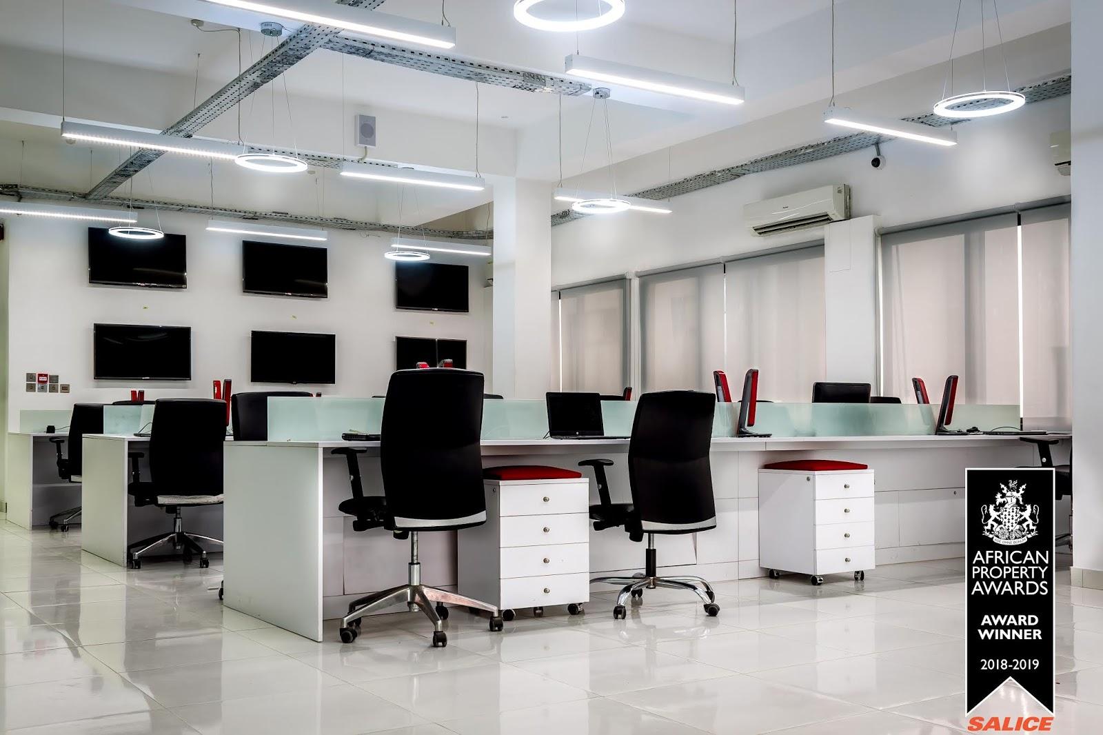 award winning office interiors large office gemona west interior designs win prestigious international property award for office category