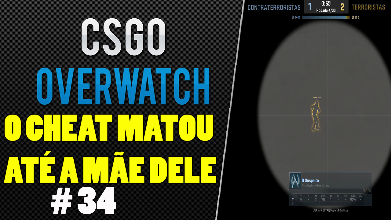 [CSGO OVERWATCH] O CHEAT QUE MATOU ATE A MÃE DELE 웃 ... - 1280 x 720 png 219kB