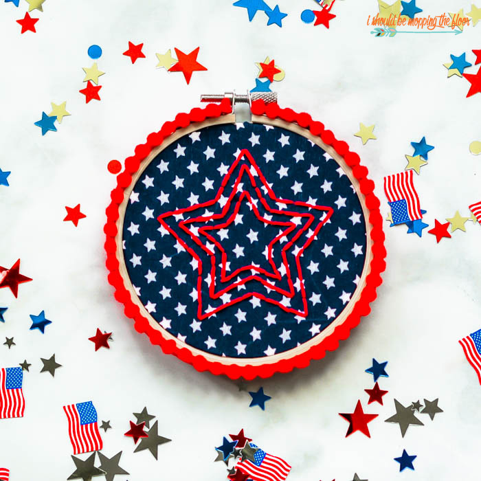 Patriotic Embroidery