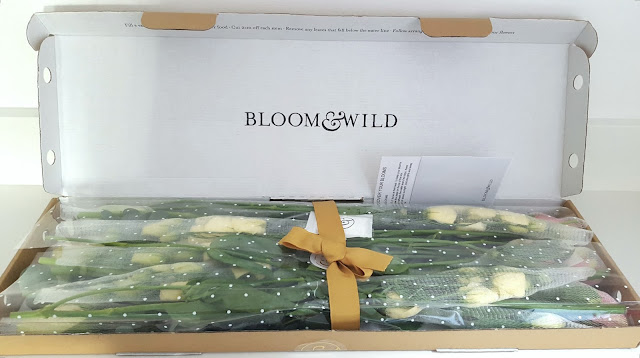 Bloom & Wild Letterbox Flower Bouquet Delivery Service Review