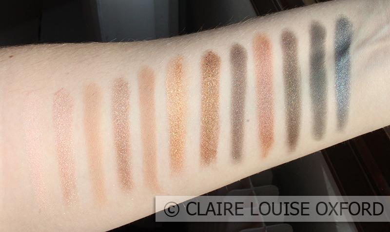 Makeup Revolution Iconic 1 Redemption Palette - Swatches