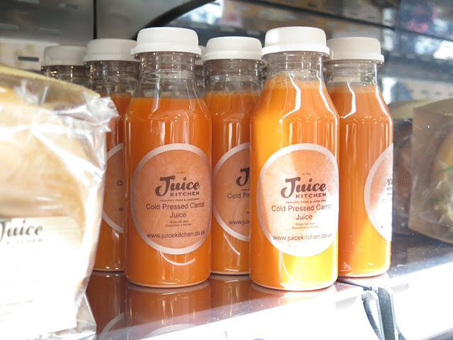 cold pressed carrot juice, juice kitchen, chelmsford