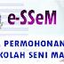 Permohonan Sekolah Seni Malaysia 2017 Online