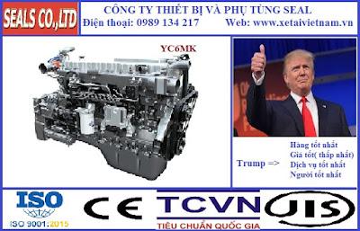 Phụ tùng động cơ yuchai chính hãng tại hà nội- model Yuchai YC6MK