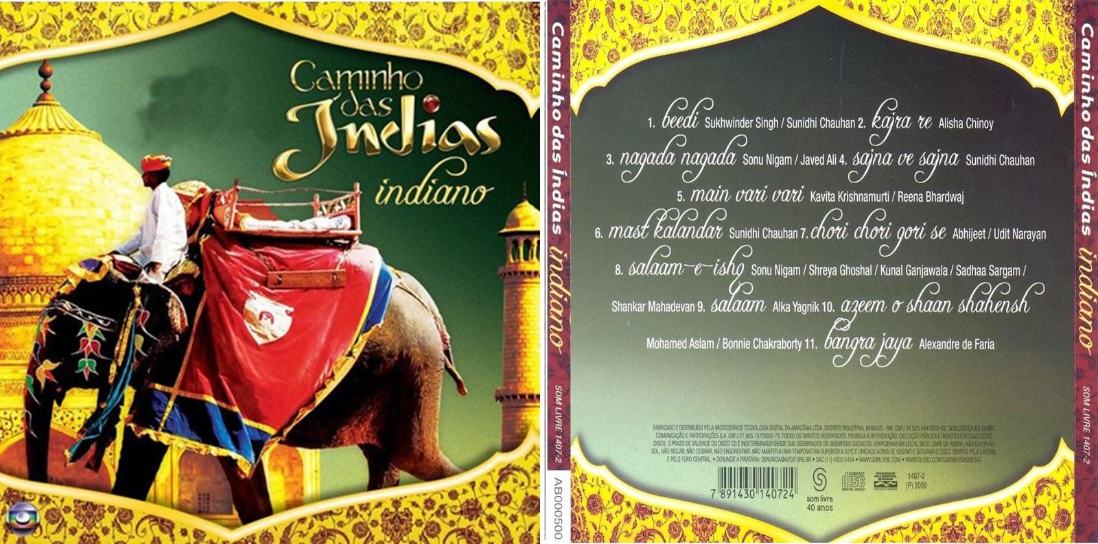 cd indiano da novela caminho das indias