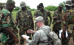 United States Air Force and Nigeria army