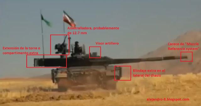 Adquisiciones y modernización de las FF.AA. de Irán Karrar%2BIII