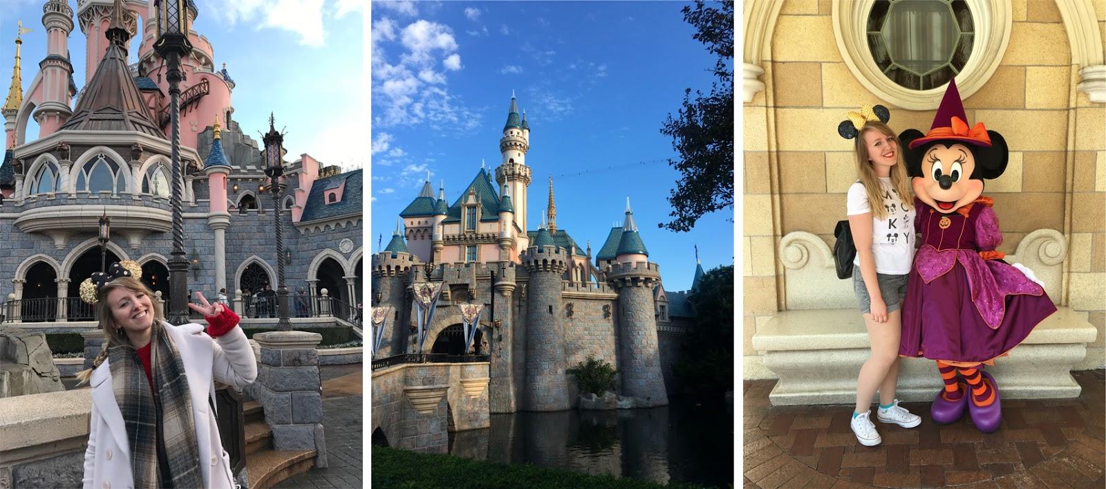 Disney Castle Theme Park Minnie Mouse