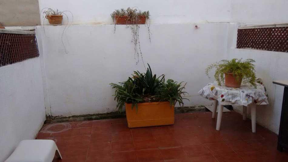 chalet adosado en venta calle jaime roig benicasim terraza