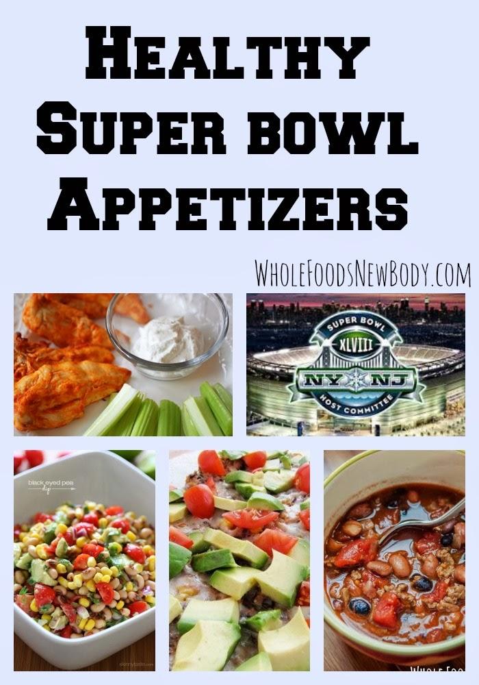 Healthy Super Bowl Etizers