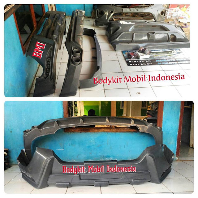 Bodykit Grand Fortuner 2016 - LX MODE - Sudah Cat