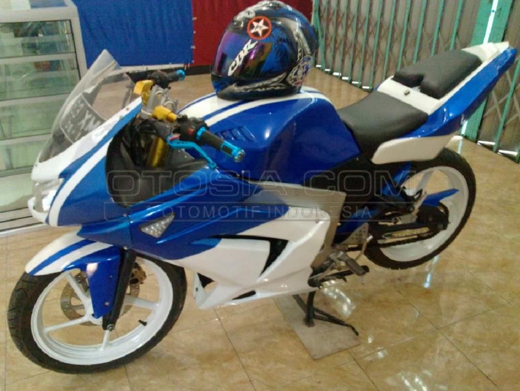 KB Blog Modifikasi Motor Yamaha Byson Modif Ala Motor Gede Moge