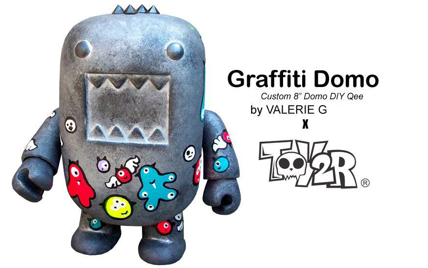Graffiti Domo Custom By Valerie G Coming Soon Tenacious