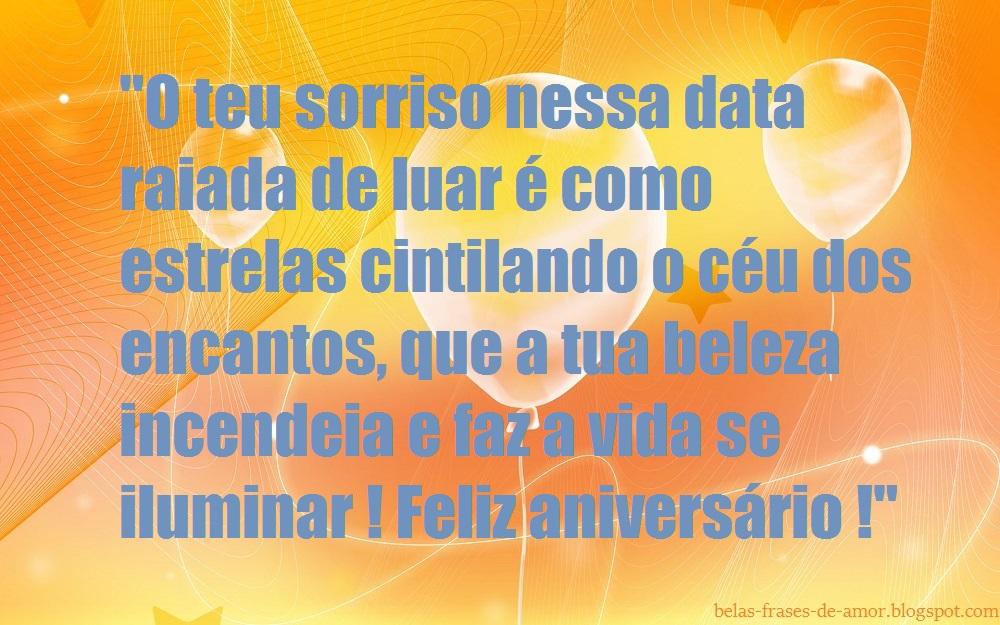 """Belas Frases De Amor Para Declarar O Seu Amor Feliz: Belas Frases De Amor: """"O Teu Sorriso Nessa Data Raiada De"""