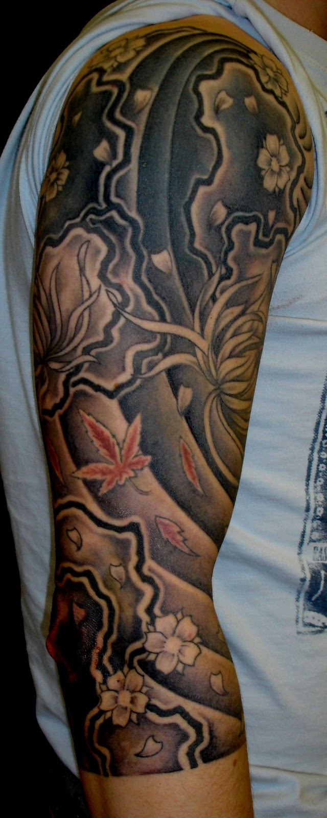 Tattoo Ideas Men Sleeve: Tattoos For Men 2011: Japanese Sleeve Tattoos