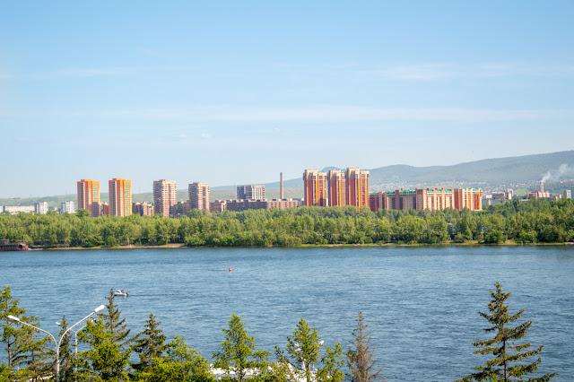 Красноярск левый берег