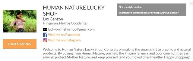 Human Nature Lucky Shop