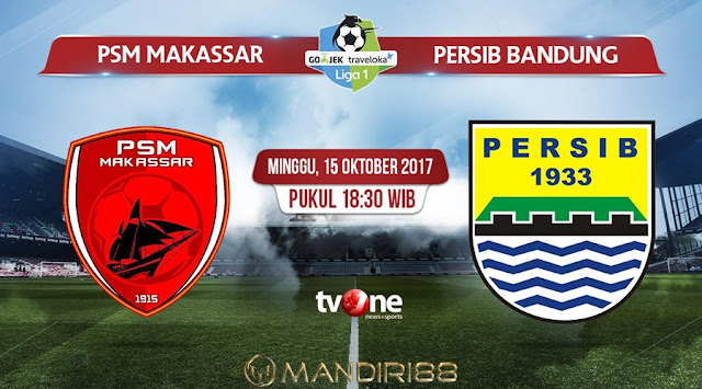 ialah momen krusial yang harus dimenangkan Berita Terhangat Prediksi Bola : PSM Makassar Vs Persib Bandung , Minggu 15 Oktober 2017 Pukul 18.30 WIB @ TVONE
