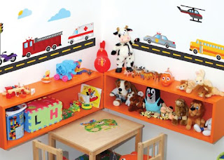 Transportation Wall Mural Stickers