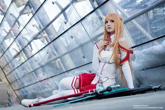 Best Cosplay Asuna Yuuki Paling Cantik dari Anime Sword Art Online