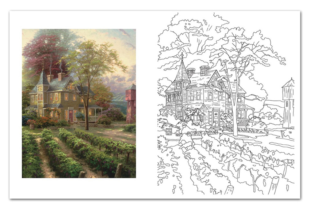 Thomas Kinkade Online Catalog
