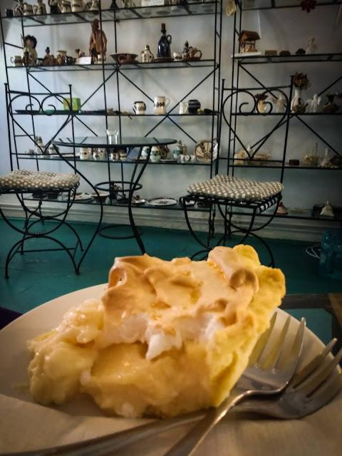 Un dulce la Cafe International, Sighisoara